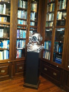 The Bauer Library Collection at the History of Diving Museum in Islamorada, FL