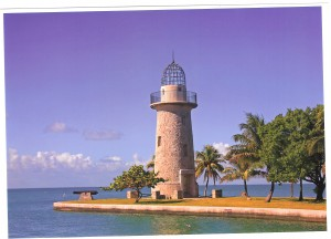 Light House in Biscayne National Park