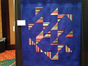 Quilt by Jaqueline Skarritt from Kalamazoo, MI, Lost and Found, at the AQS Show, Lancaster, PA