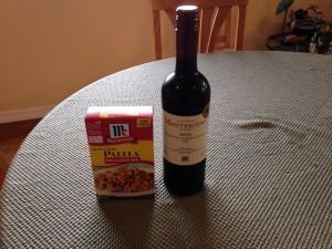 Paella and Rioja as a Pairing