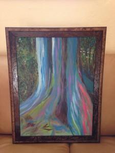 Rainbow Eucalyptus by Marcia Maynard
