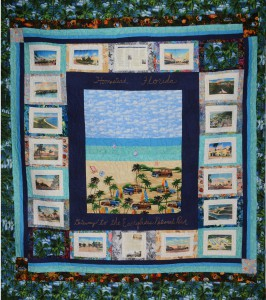 Quilt to be Raffled in Support of Homestead Town Hall Museum.