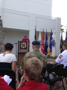 Veteran's Day Ceremony Homestead, FL Nov 2015