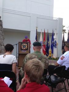 Veteran's Day Ceremony Homestead, FL Nov 2015