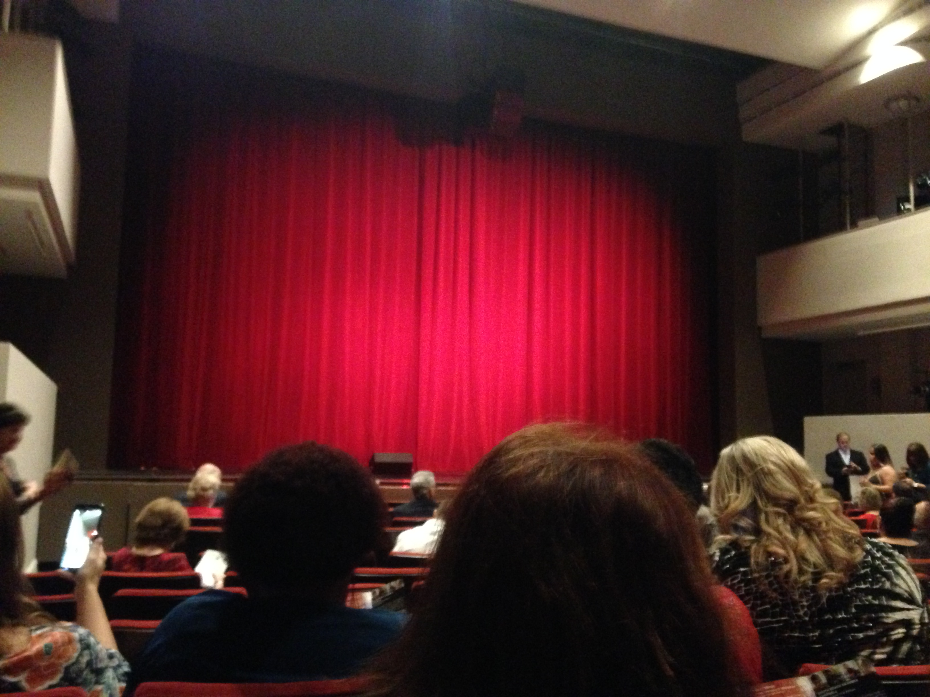 The crowd coming in for opening night of the Seminole Theater Dec 12, 2015