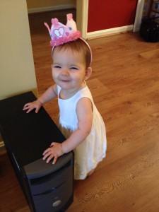 Amelia Margaret's 1st Birthday